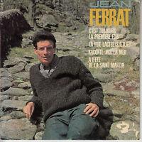 45TRS VINYL 7'' / FRENCH EP BARCLAY / JEAN FERRAT / L'ETE DE LA SAINT MARTIN + 3
