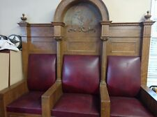 """Antique Masonic Throne Used as a TV prop in series """"Sleepy Hollow"""""""