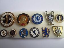 j1 lotto 11 pins lot CHELSEA FC club spilla football calcio badge spille