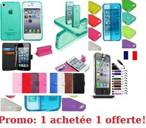 Case Cover IN Silicone Apple IPHONE 4/4S 5/5S 5C 6/6 Plus+Film 1