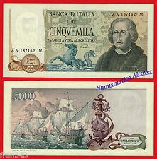 ITALIA ITALY 5000 Liras lire 1971 Pick 102   SC /  UNC