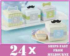 24x My Little Man Baby Boy Shower Baptism Favours Christening Candy Gift Box