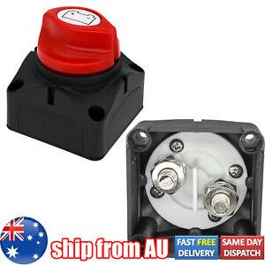 12V/24V/48V Battery Disconnect Switch Master Isolator Cut Off Kill Marine Boat