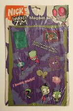 Invader Zim Magnet Set Nickelodeon 2005 New In Package