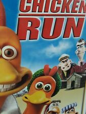 Dreamworks Chicken Run Vhs Movie In Clamshell Case ~ 🔥Classic Favorite