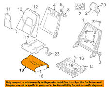 VOLVO OEM 99-04 S80 Front Seat-Cushion Bottom Cover 39967890