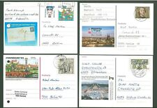 Stationery An55 4 Postal cards Sc Germany 80-90s yrs Below face