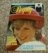 Royalty Monthly Magazine Issue No 11 May 1982. Princess Diana