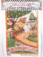New Daisy Kingdom How Do Your Candles Glow Iron-On Transfer Mary Engelbreit 6508