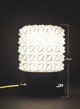 Vintage 1940 industrial art deco antique light scone Bakelite opaline shade