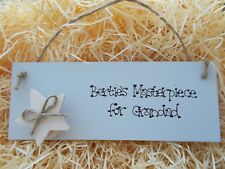 Personalised Grandparents Plaque Gift For Artwork Pictures