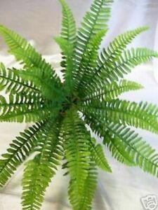 Artificial Boston Fern  Foliage Plant Flowers Artificial Flowers home Decoration