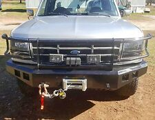 Ford Front Winch Bumper 1992-96 F-150 F-250 F-350 Bronco 92-96 Fully Adjustable