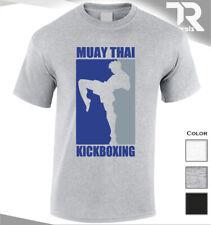 Nueva Camiseta Muay Thai Kickboxing Culturismo Entrenamiento MMA UFC Luchador Camiseta Top
