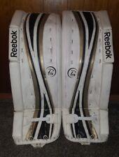Reebok 18k P4 34+1 ice hockey goalie pads. If interested, please make an offer