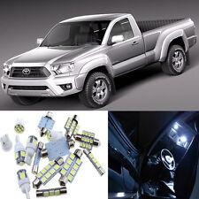 6pcs Interior LED Light Package Kit for Toyota Tacoma 2005-2013 White