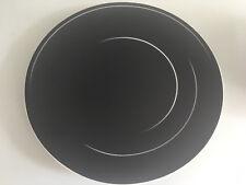 Rosenthal TAC Dynamic schwarz  BROTTELLER 16 cm unbenutzt Gropius