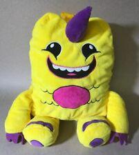 "So So Happy Lulu Monster Plush Backpack 14.5"" - EUC!!"