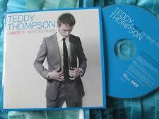 Teddy Thompson – A Piece Of What You Need Verve Music TEDDY 1 Promo CD Album