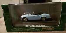 EBBRO 1/43  NISSAN DATSUN FAIRLADY SP 1600 OLDIES BLUE 1:43 ROADSTER