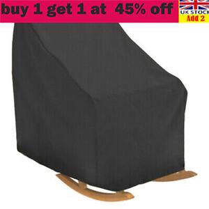 Rocking Chair Cover Waterproof 210 Duty Oxford Garden Chair Furniture Covers li