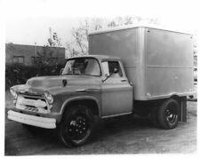 1957 Chevrolet 6100 6-Wheel Truck with Hercules Box Body Press Photo 0250