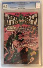 GREEN LANTERN #77 - CGC 9.4 - 2ND ADAMS/O'NEIL GREEN LANTERN/GREEN ARROW - OW/W