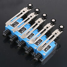 5PCS ME-8108 Momentary Rotary Adjustable Roller Lever Limit Switch