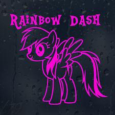 Rainbow Dash My Little Pony Car Decal Vinyl Sticker For Window Bumper Panel