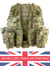 Assault Vest MTP Webbing Airsoft Multicam Tactical Vest Ammo Pouches BRAND NEW