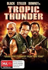 Tropic Thunder (DVD, 2008) Region 4 Action Comedy DVD Rated MA Used in VGC