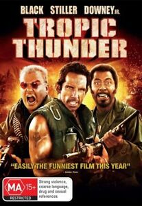 """Tropic Thunder (DVD) Region 4 """"NEW AND SEALED"""""""
