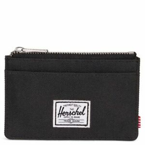 Herschel Supply Co. Oscar black wallet RFID Protected Genuine - (4867