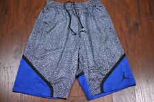 Nike Air Jordan III Basketball Shorts Black Anthracite Men's Large L