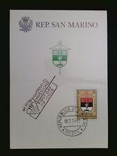 SAN MARINO MK 1974 ARMBRUST-TURNIER SPORT MAXIMUMKARTE MAXIMUM CARD MC CM c8486