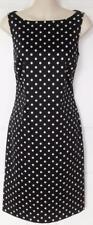 LAUREN RALPH LAUREN Sz 4 - Black & White ~ Polka Dot ~ Sleeveless Dress