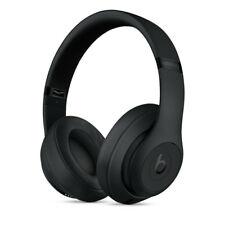 Apple auriculares Bluetooth beats Studio3 negro mate