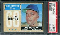 "1968 Topps #364 Joe Morgan ""All Star"" PSA 6.5 EX-MT+"