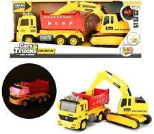 Camion à benne basculante avec pelle - Son et lumière