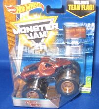 HOT WHEELS MONSTER JAM 25 1:64 MONSTER TRUCK ZOMBIE HUNTER W/FLAG CREATURES #3