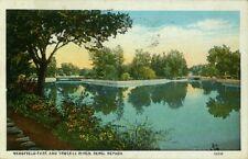 Wingfield Park And Truckee River, Reno, Nevada - Postcard Unused
