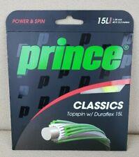 Prince Classics 1.38 mm Topspin w/ Duraflex 15L Yellow