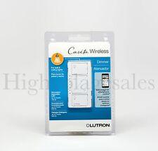 Lutron Caseta Wireless LED/CFL 600/150Watt Single Pole In-wall Dimmer PD-6WCL-WH