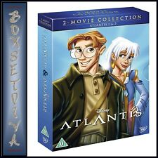 ATLANTIS 1 & 2 DOUBLE PACK - DISNEY 2 COLLECTION ** BRAND NEW DVD BOXSET***