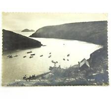 Vintage Postcard Solva Entrance To Harbour Unposted
