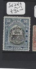 NORTH BORNEO  (PP2807B)   50C ARMS, LION SG 289    MOG