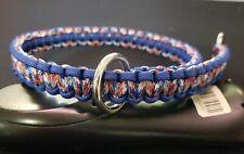 "22"" Paracord Slip Choke Dog Collar - You choose colors"