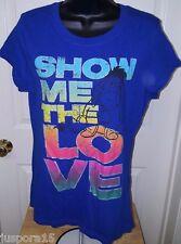 """Disney Junior's Multi Color Eeyore """"Show Me The Love"""" T-Shirt Size XL (15/17)"""