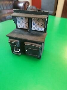 Victorian Dolls House Kitchen Resin Stove 1/12th scale (12x9x6cm)