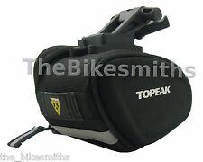 Topeak TC2281B Sidekick Small Wedge Seat Bag Black Clip-in Bike Saddle Pack